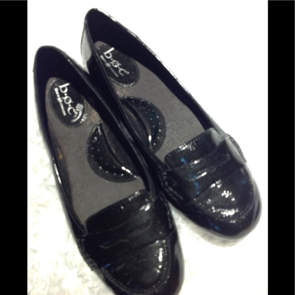 62b37948990 Born Shoes - Born concept Shiny Black penny loafers 👞 9.5